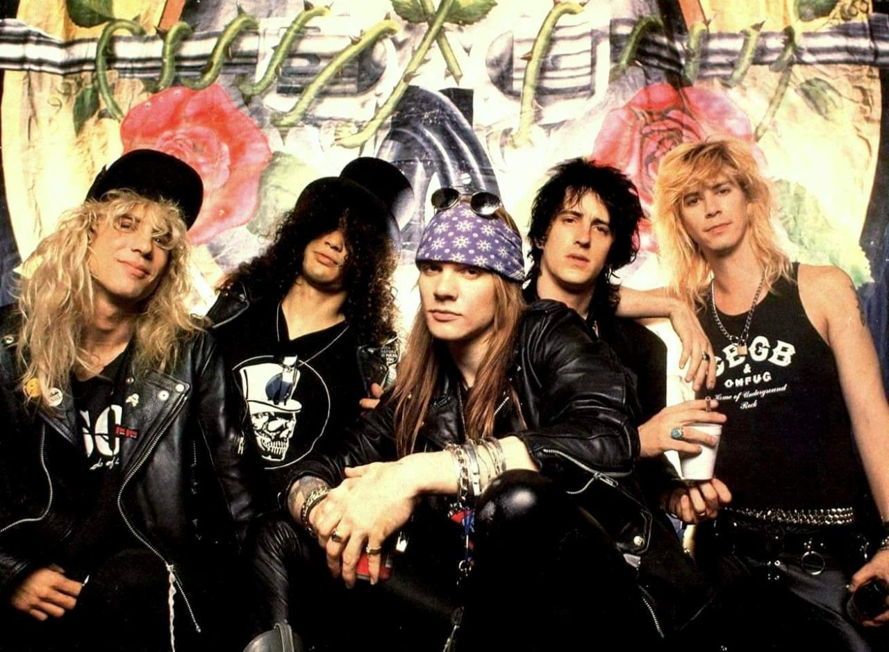 Streaming: Hace 32 a�os, Guns N' Roses public�