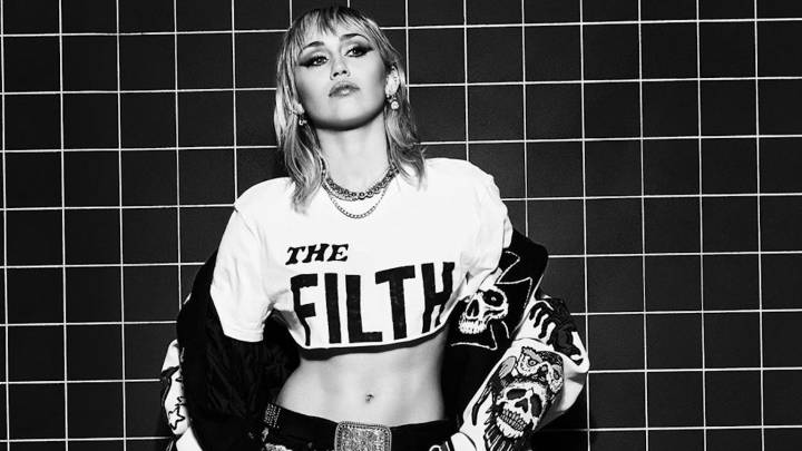 Wow: Miley Cyrus est� grabando un �lbum de covers de Metallica