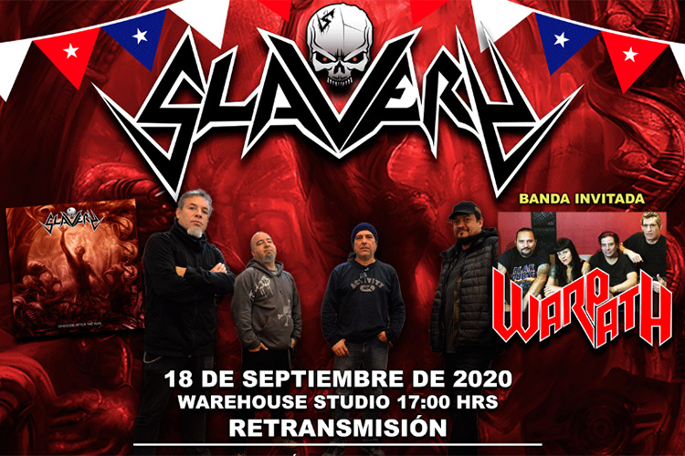 Slavery y Warpath retransmiten su Live Session