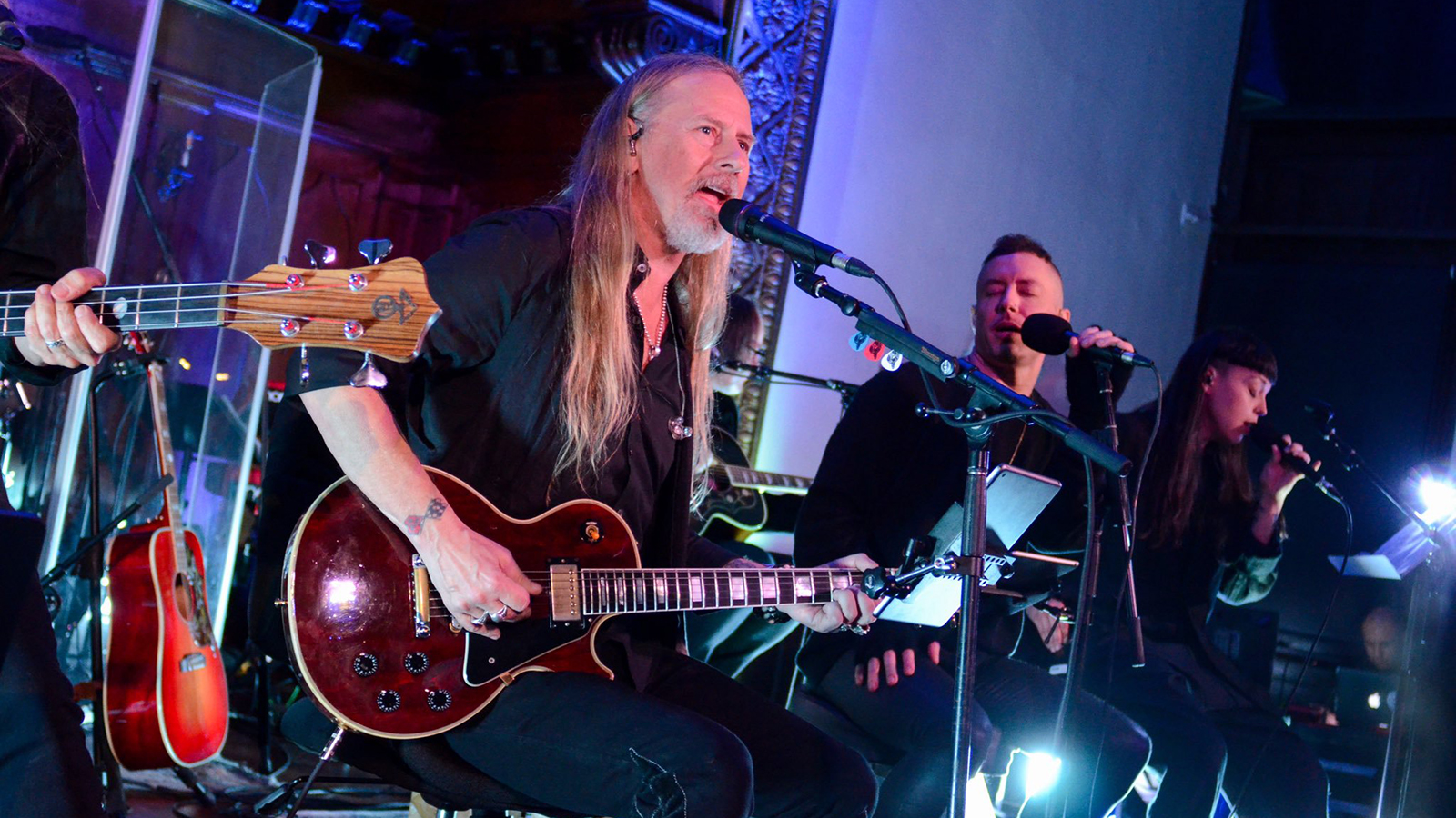 Video: Jerry Cantrell interpretó canciones de Alice in Chains junto a Greg Puciato