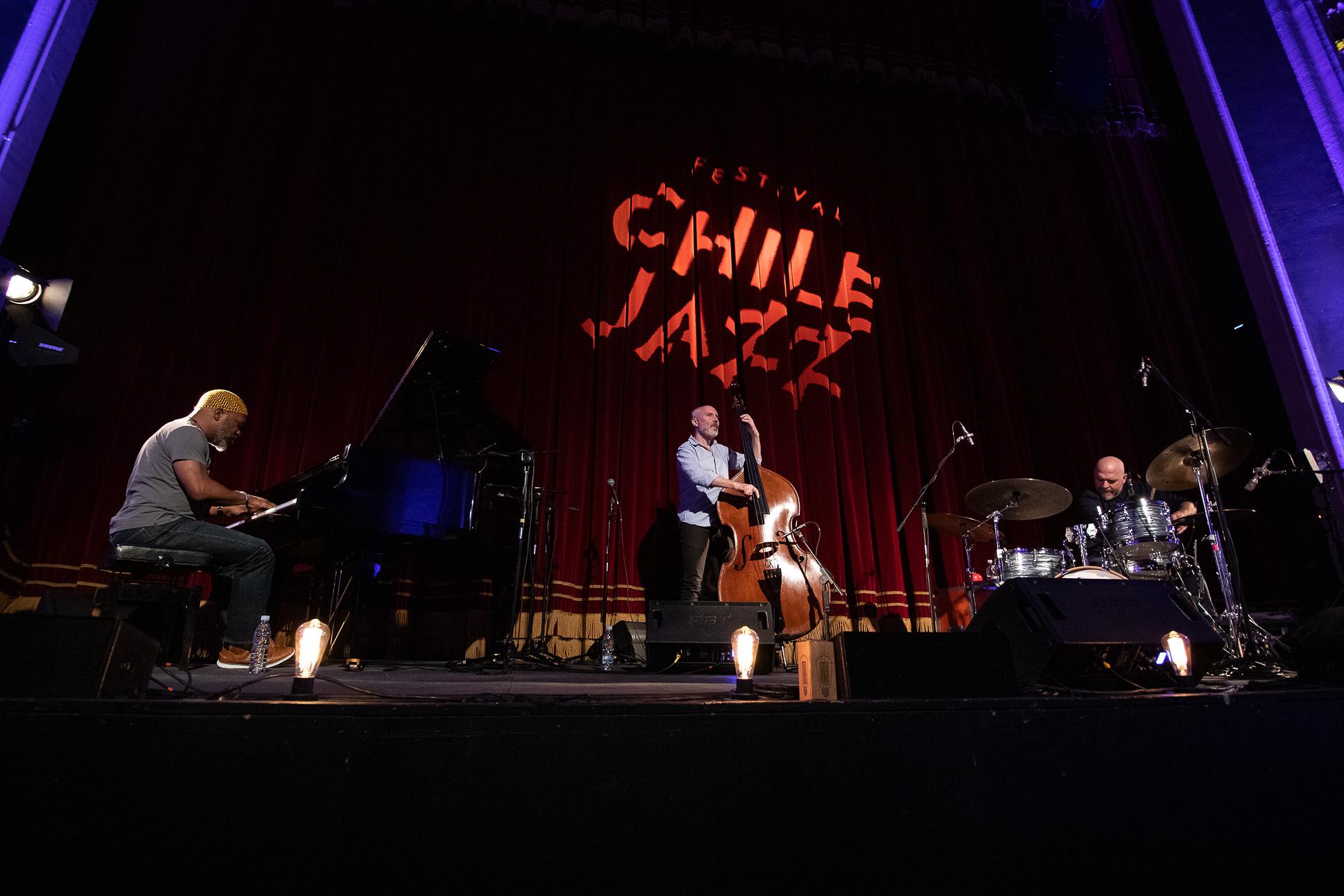 The Bad Plus en Festival Chile Jazz