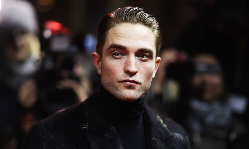 Así luce Robert Pattinson como Batman