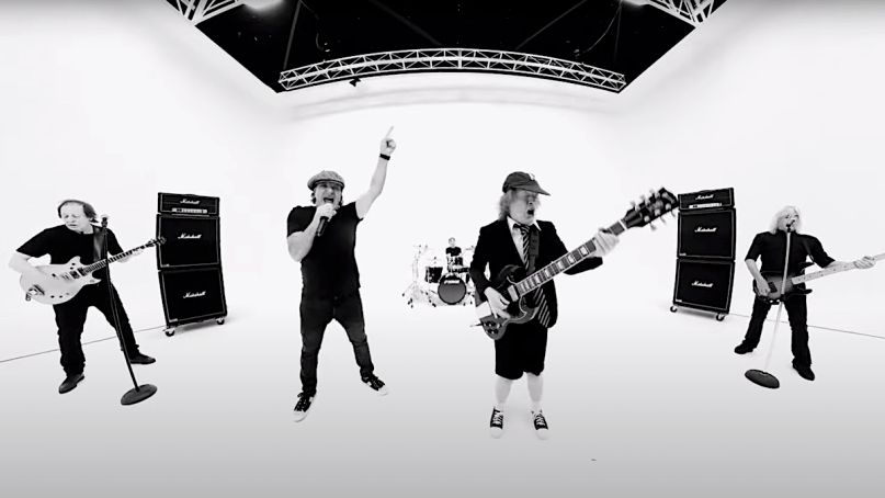 AC/DC estrena video para 'Realize'