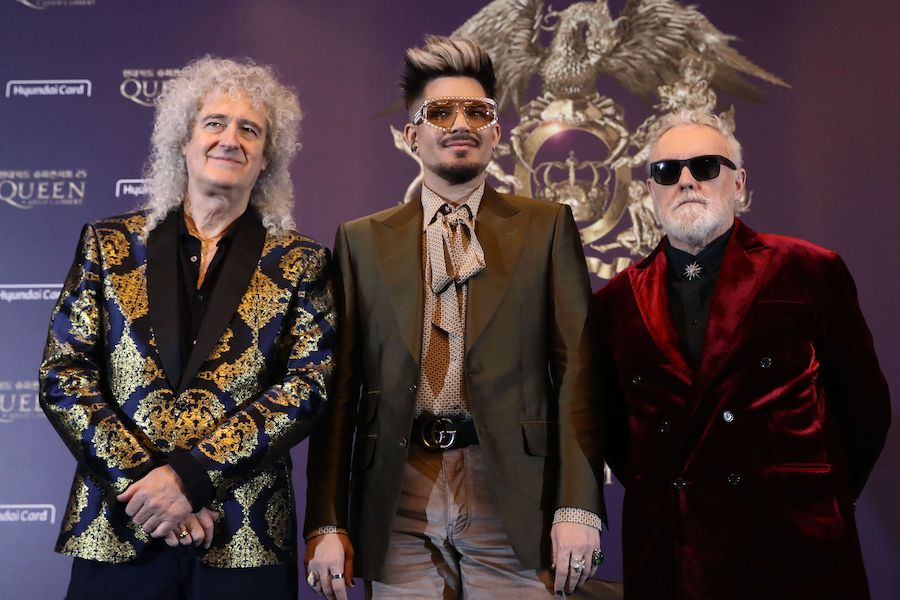 Queen y Adam Lambert intentaron grabar una canci�n in�dita