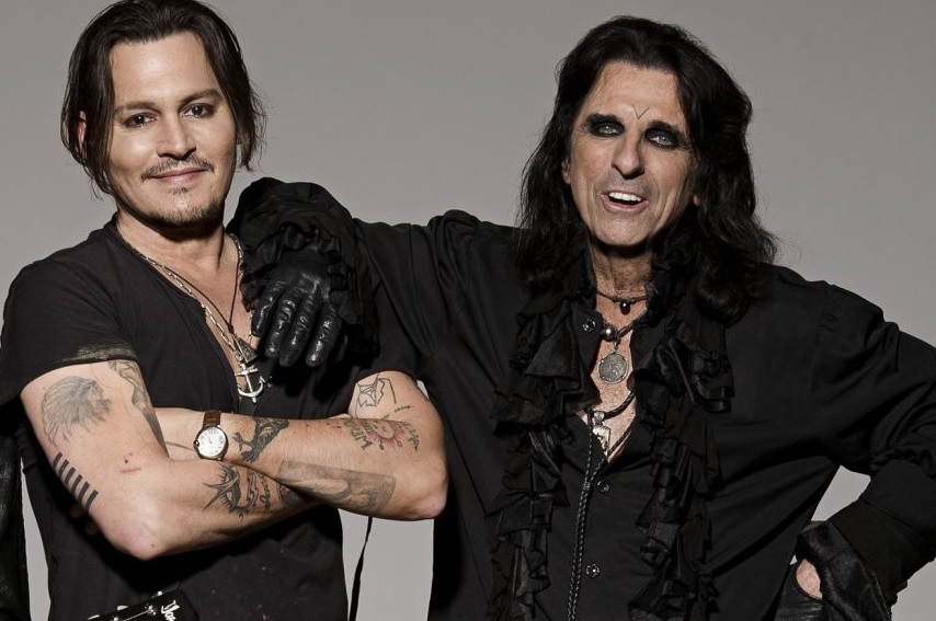 Alice Cooper quiere que Johnny Depp lo interprete en una biopic