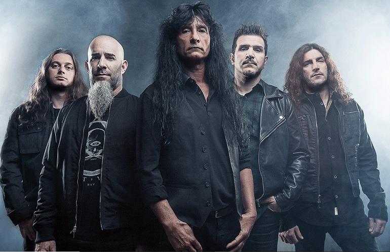 Usando Zoom: Anthrax trabaja en un nuevo disco
