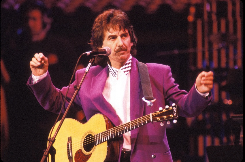 Video: recordando el último concierto de George Harrison
