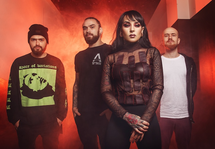 Jinjer estrena nuevo video 'The Prophecy'