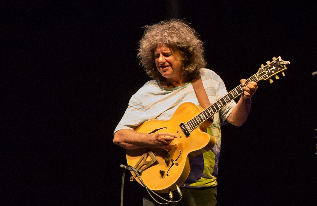 Pat Metheny prepara disco con banda que vendrá a Chile