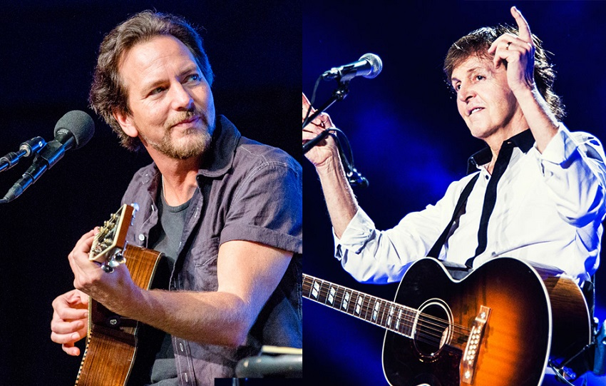 Eddie Vedder, Paul McCartney, Billie Eilish y más participarán en festival online