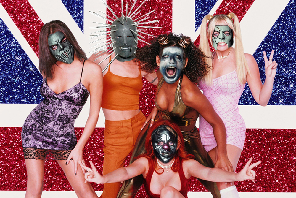 Mira el impensable mash-up entre Slipknot y Spice Girls