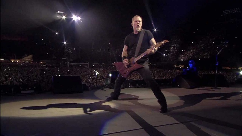 Metallica comparte en streaming un show del 2009