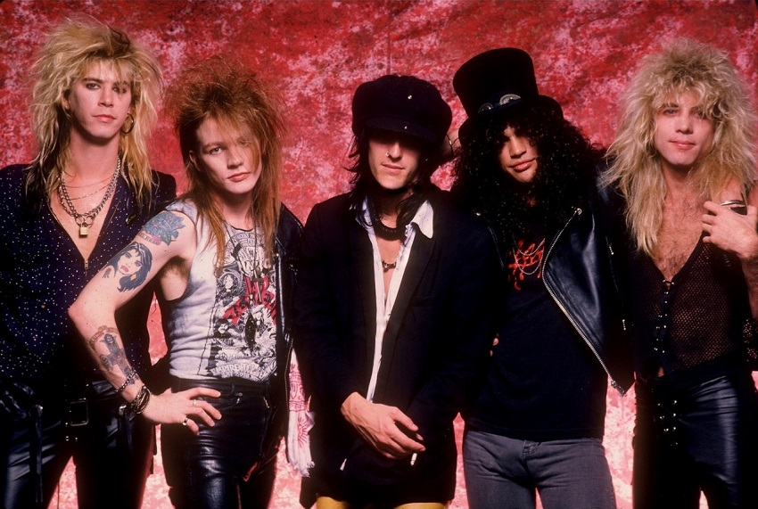 Guns N' Roses: relatos salvajes