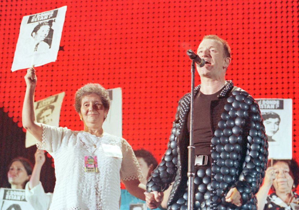 Video: el debut de U2 en Chile
