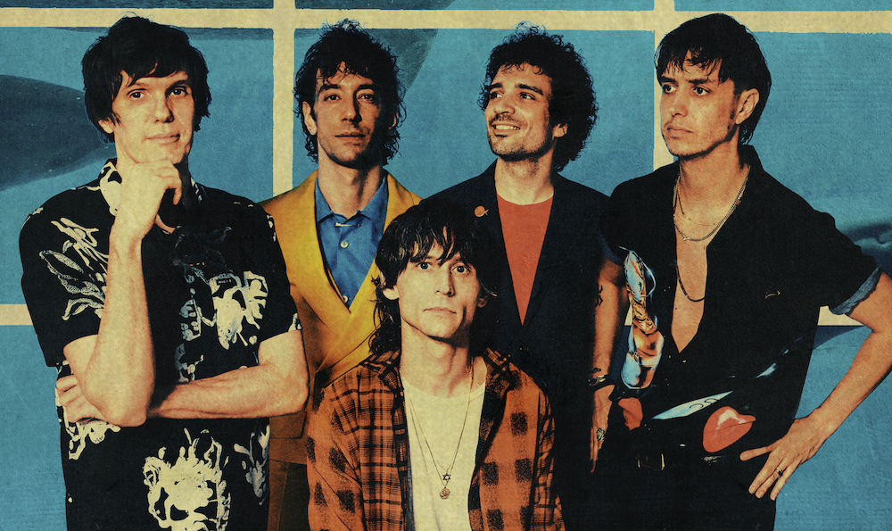 La impronta setentera impregna el nuevo single de The Strokes