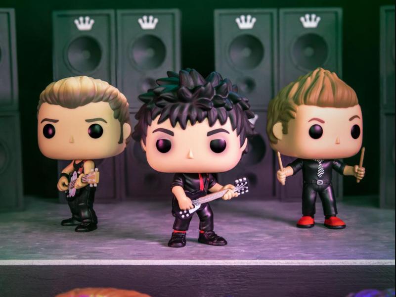 Green Day inspira nuevas figuras de Funko POP!