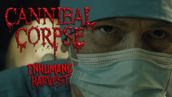 Cannibal Corpse lanza video 'Inhumane Harvest'