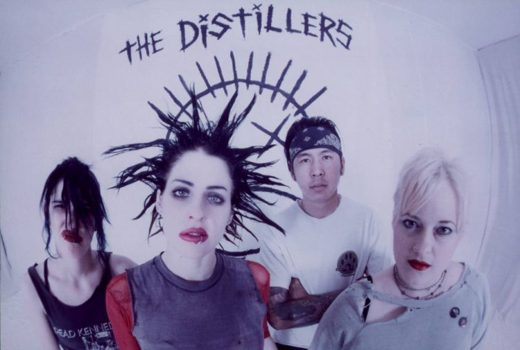 The Distillers anuncia la reedición de su álbum debut