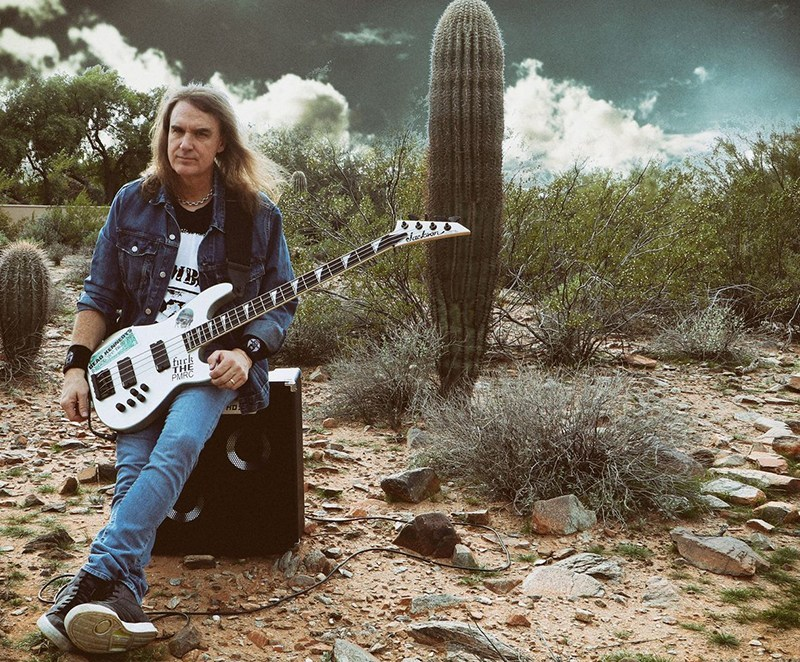 David Ellefson viene a Chile para ofrecer una cl�nica exclusiva