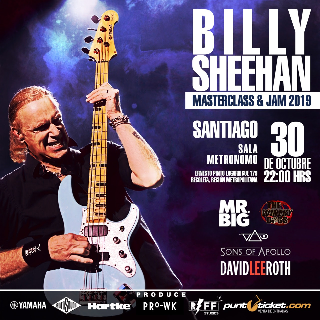Billy Sheehan: