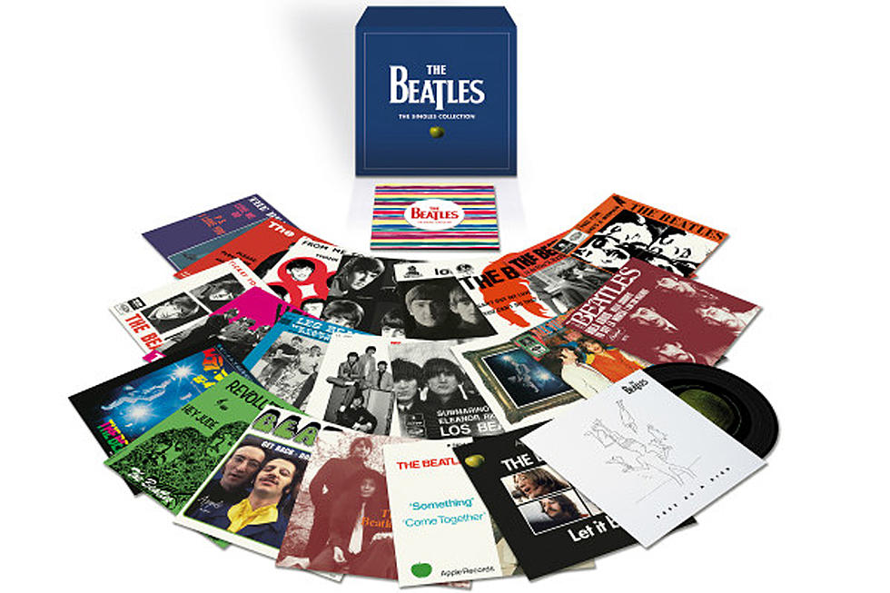 The Beatles: anuncian box set de singles en vinilo