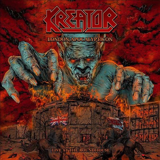 Kreator anuncia DVD/Bluray en vivo
