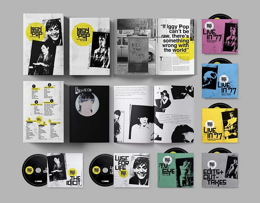 Iggy Pop reeditará dos de sus discos producidos por David Bowie