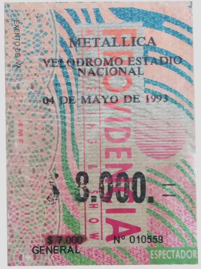 Hito imborrable: Recordamos el debut de Metallica en Chile