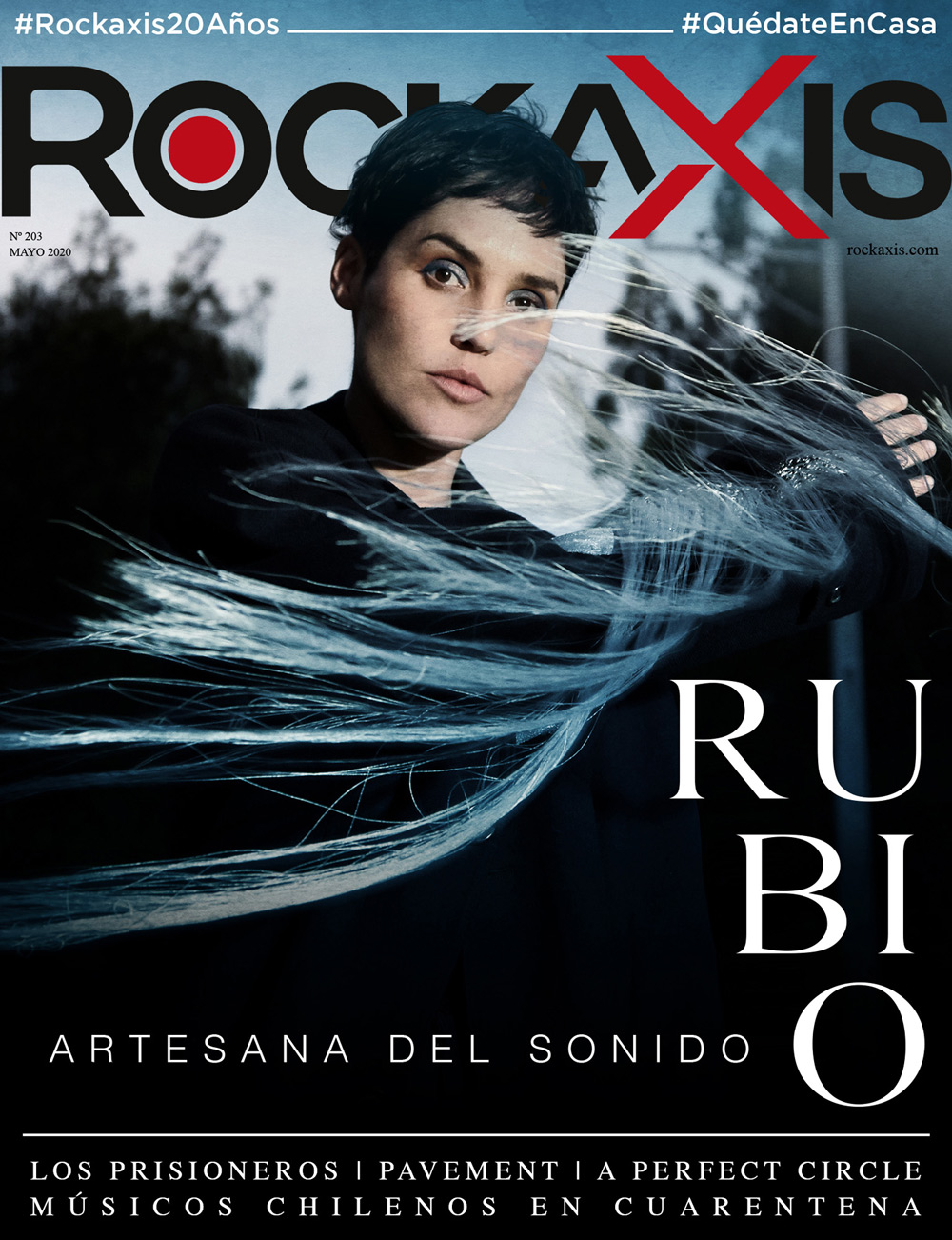 Revista #Rockaxis203: Rubio, Los Prisioneros, Pavement, A Perfect Circle y más