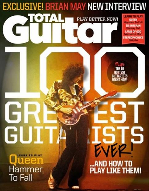 Brian May fue escogido el mejor guitarrista del mundo