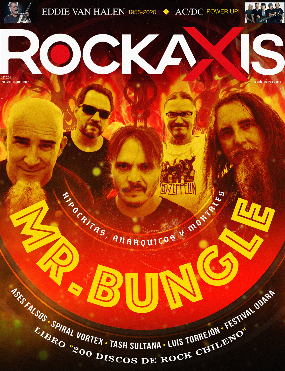 Hipócritas, anárquicos y mortales: Mr. Bungle en revista #Rockaxis209