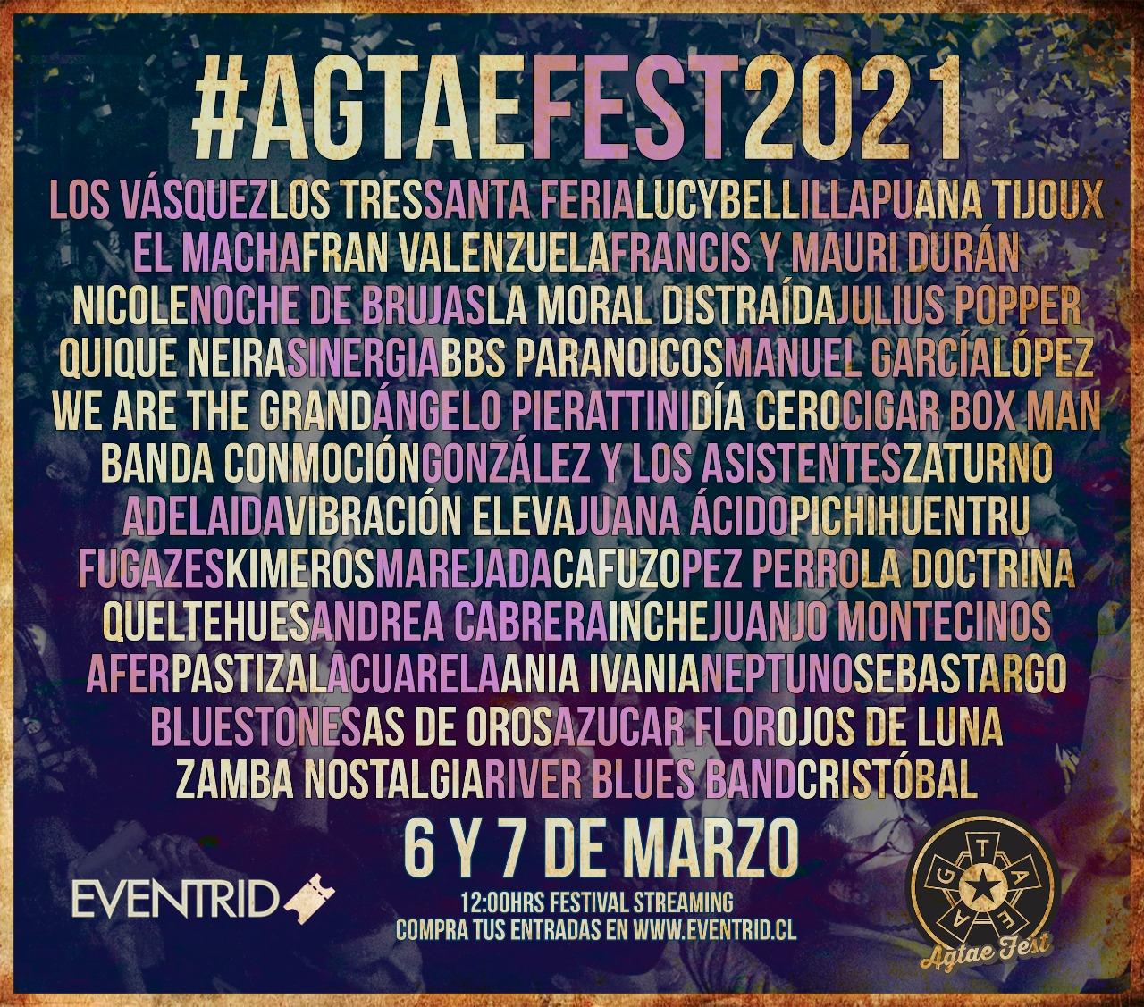 AGTAE: Se viene festival online para ayudar a trabajadores de la música en Chile