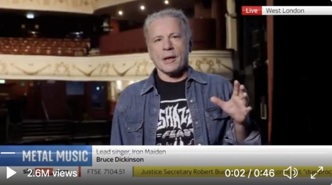 El nuevo álbum de Iron Maiden podría ser anunciado este mes